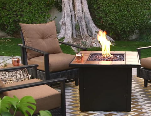 Fire pit tables – novelty for the consumer.