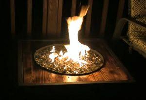 fire pit glass rocks home depot