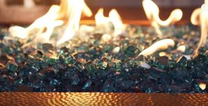 fire pit glass kit