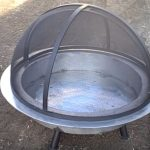 fire pit screens round