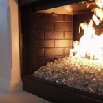fireplace ideas with tile