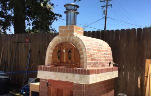 chiminea pizza oven bunnings