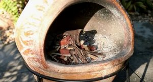 mexican chiminea fire pit