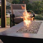 backyard fire pit gas