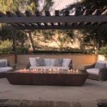 backyard fire pit seating