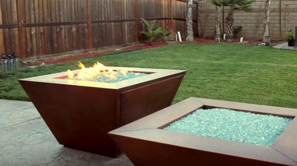 backyard fire pits designs
