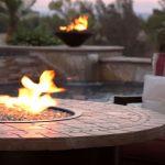 cheap backyard fire pit