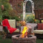 cheap backyard fire pit ideas
