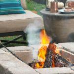 cheap stone fire pit