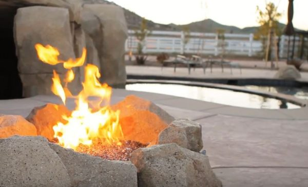 diy stone fire pits