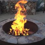 fire pit ring grill