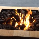 fire pit designs from junk yards