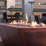 fire pit designs with landscape block