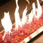 fire pit glass colors