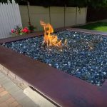 fire pit glass crystals