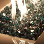 fire pit glass gems