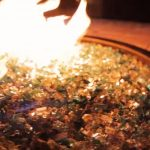 fire pit glass vs lava rock