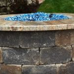fire pit ideas with brick