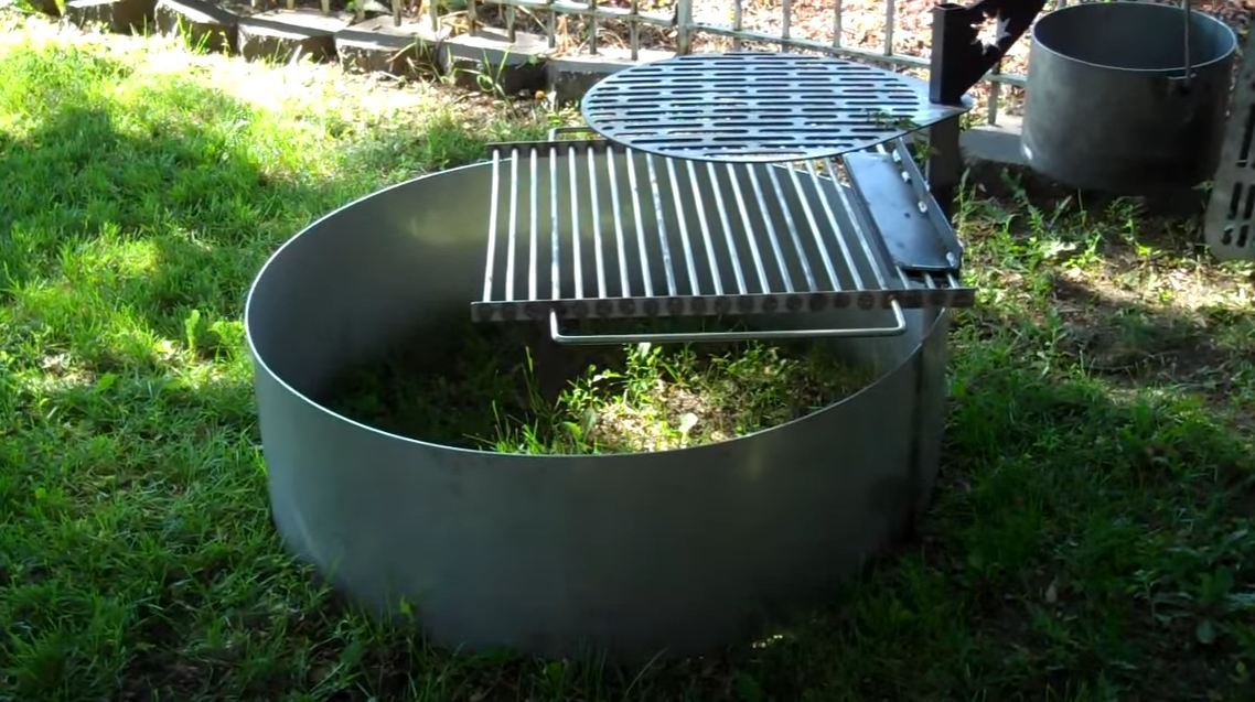 Fire Pit Insert With Cooking Grate Fire Pit Pics
