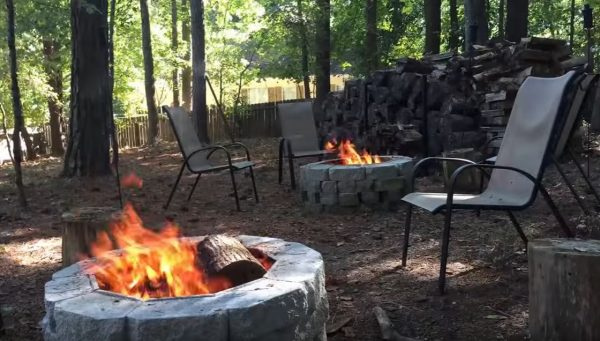 fire pit ring 48 inches