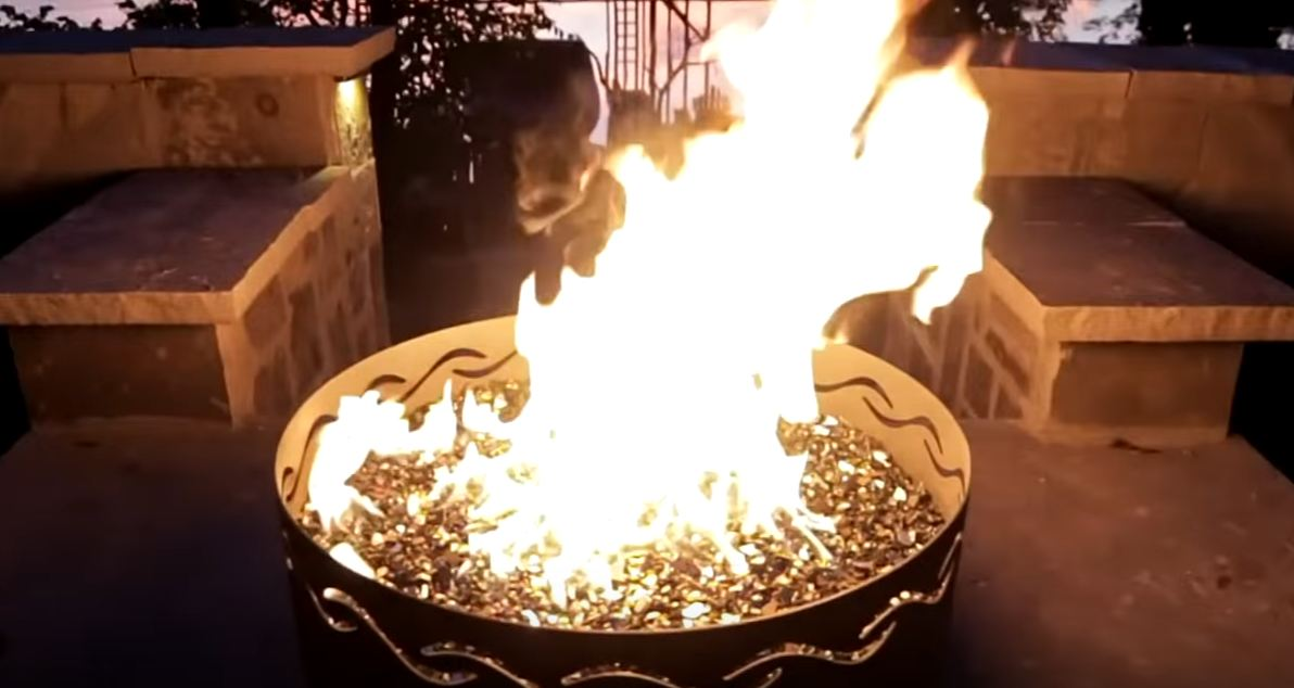 fire pit ring designs