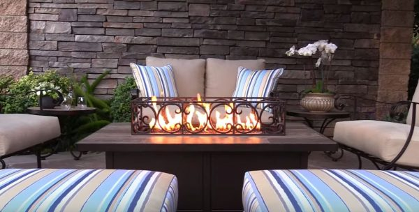 fire pit table set