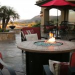 fire pit tabletop
