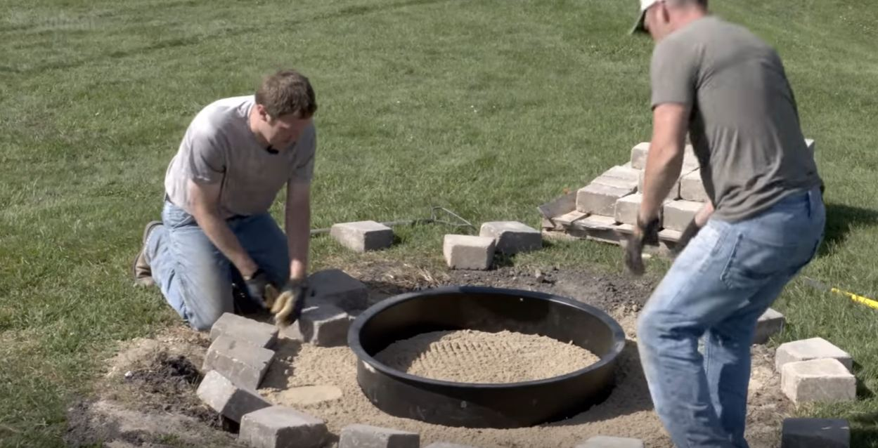 How To Build A Fire Pit Fire Pit Pics