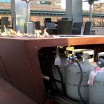 natural gas fire pit sets
