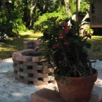 outdoor fire pits wood burning