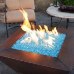 outdoor gas fire pit tables