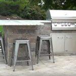 outdoor kitchens island