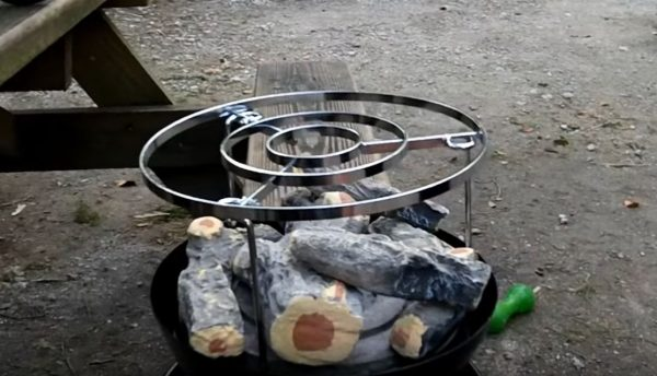 portable fire pit for camping