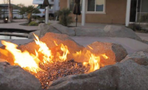 simple backyard fire pit ideas landscaping