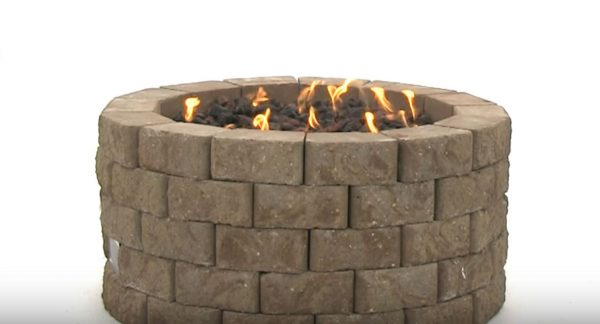 stone fire pit images