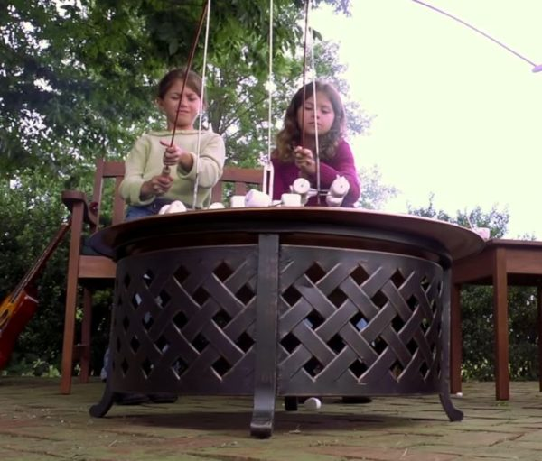 bbq fire pit table