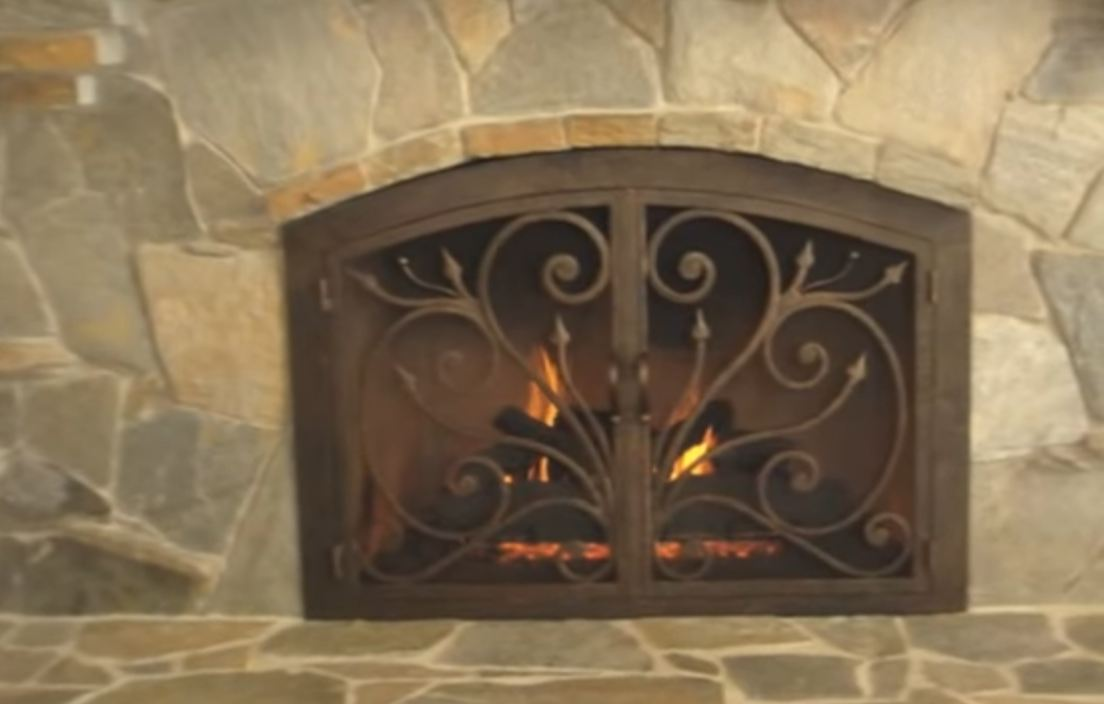 The main functions of fireplace doors fire pit pics brass fireplace doors solutioingenieria Image collections