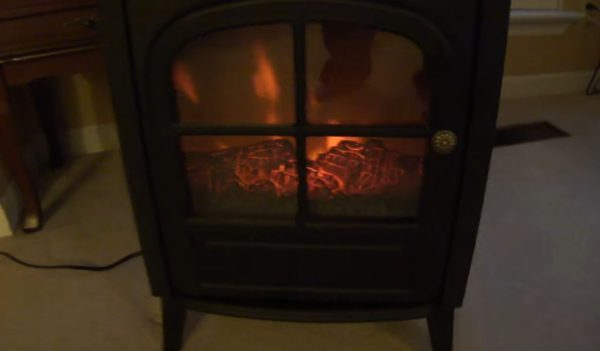 cheap fake fireplace