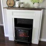 electric fake fireplace
