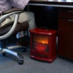 electric portable fireplace