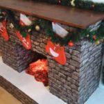 fake electric fireplace