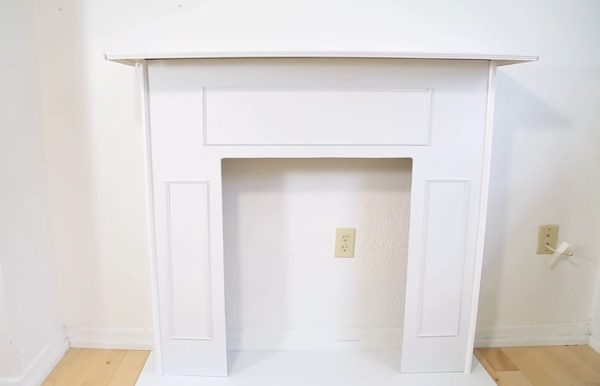 fake fireplace ideas