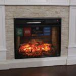 fake wall fireplace
