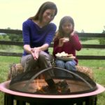 fire pit and bbq