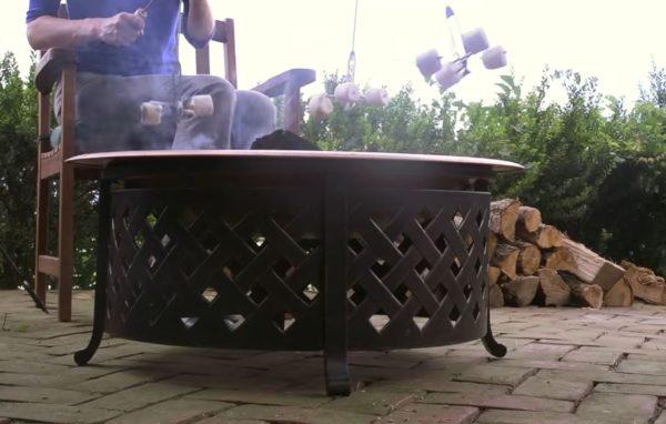 fire pit ideas stone