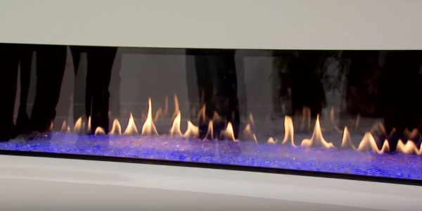 fireplace and tv wall design