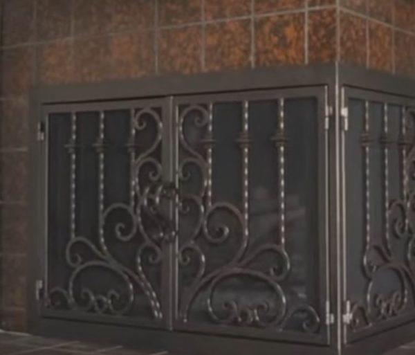fireplace doors home depot