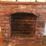 fireplace fake wood