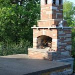 fireplace for outside