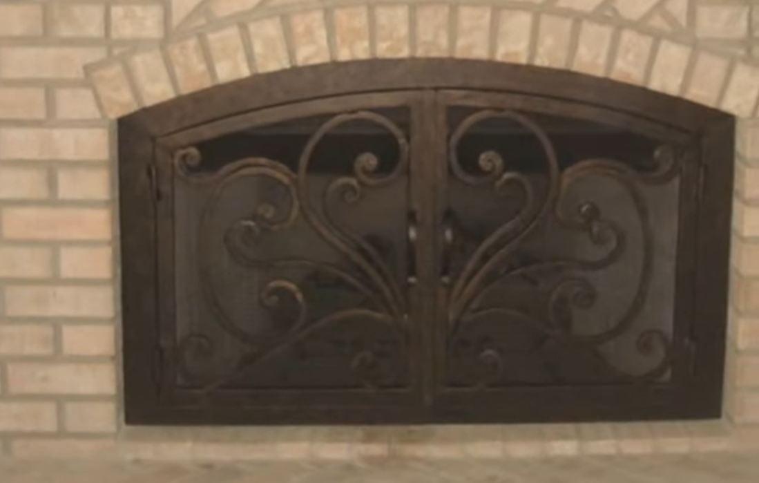 Fireplace Glass Doors Home Depot